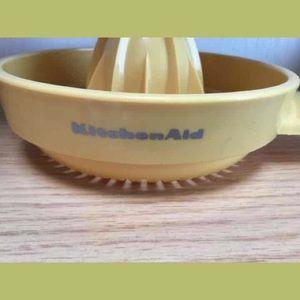 Vintage Kitchen - Vintage KitchenAid Yellow Plastic Reamer